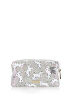 **Glitter Unicorn Make Up Bag by Skinnydip