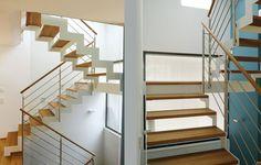 Bildergebnis für treppe modern wand mitte