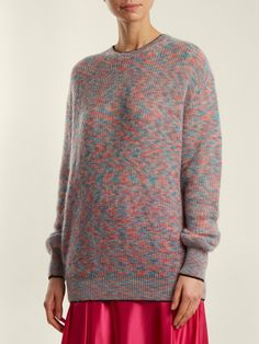 Crew-neck mohair-blend knit sweater | Christopher Kane | MATCHESFASHION.COM US