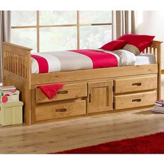 Captains Storage Bed & captains bed plans   Twin size Captains bed is 39 inches wide and 76 ...