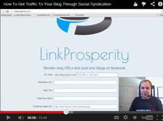 How to Get Traffic To Your Blog Through Social Syndication How To Get, Marketing, Tips, Youtube, Blog, Blogging, Youtube Movies