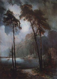Lell, 1883, Aleksey Savrasov Medium: oil, canvas