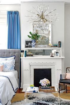 Beautiful Blue Bedrooms White And Blue Bedroom