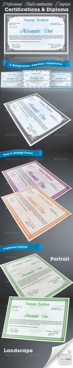 Professional Certificate or Diploma Templates_Purchase : http://graphicriver.net/item/professional-certificate-or-diploma-templates/376224?ref=ThemeTruly