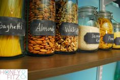 IHeart Organizing: Reader Space: A Pantry Project that is as Sweet as Honey!