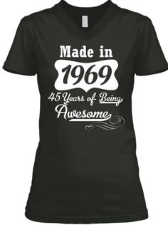 27b6a6a318 Awesome 1969 Limited Edition Tee