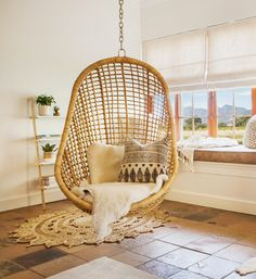 Haven Studio has been inspired by ethnic living, tribal heritage and a range of textures in ivory, white & wood. A simply serene space to revive and rejuvenate in the luxury of this African inspired studio. White Wood, Hanging Chair, South Africa, Studios, Relax, Luxury, Gallery, Inspiration, Furniture