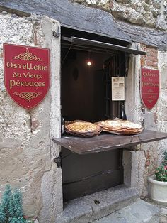 Pérouges, France I belong where goods are baked fresh and have no gmo.  To Europe, I must go
