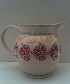 Gypsy Hearts 1.5 Pint Jug for the Collectors Club 2002 (Discontinued)