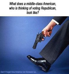 shooting himself in the foot