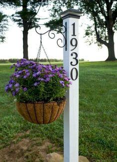 Pergola In Front Yard Outdoor Decor, Small Front Yard Landscaping, Diy Garden, Front Yard Landscaping Design, Spring Garden, Garden, Front Porch Decorating, Yard Decor, Farmhouse Landscaping