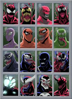 Marvel Dc Comics, Venom Comics, Marvel Venom, Marvel Villains, Marvel Art, Marvel Heroes, Marvel Characters, Toxin Marvel, Mysterio Marvel