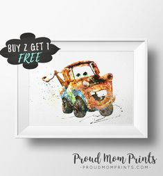 Disney Cars, Tow Mater, Cars Tow Mater, Disney Cars Download, Tow Mater Printable