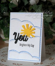 Tuesday Tutorial - Fun Sun Card ...