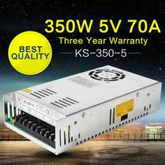 350W 5V LED Power Supply AC-DC Converter 220V to 5V LED SMPS Switch Mode Power Supply for LED Module Light Monitor 100%Authentic //Price: $53.04//     #electonics