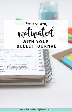 My bullet journal has been life changing in terms of organising my life, but there's times when I just couldn't be bothered to use it. If you're losing motivation to carry on bullet journalling, this post will help you get your bujo-mojo back | www.hannahemilylane.com
