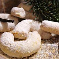 Recept : Vanilkové rohlíčky ze špaldové mouky | ReceptyOnLine.cz - kuchařka, recepty a inspirace