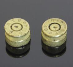 Bullet Shell Vintage Gold Earrings