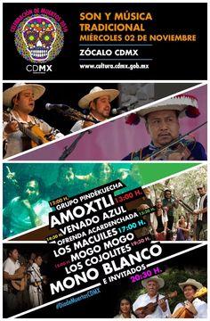 Festeja a tus muertos con son y música tradicional #DíaDeMuertos #SiMueroLesEncargo