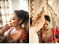 Classic Indian Wedding look