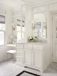 small bathroom space with vanity