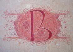 Anachropsy - Calligraphie latine par Benoit Furet - Expo à la mairie du quartier de l'Europe