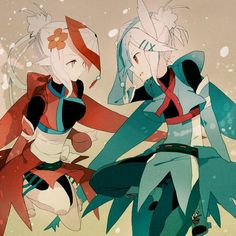 latios and latias gijinka