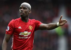 Paul Pogba of Manchester United reacts during the Premier League match between Manchester United and AFC Bournemouth at Old Trafford on March 2017 in Manchester, England. Paul Pogba, Stockholm, Real Madrid 2014, Bryan Robson, Liga Premier, Afc Bournemouth, English Football League, Vegas Style, Manchester United Football