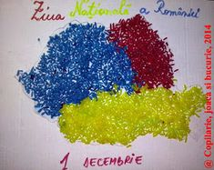 1 Decembrie, Art Projects, Projects To Try, Crafts For Kids, Moldova, Handmade, School, Funny, Folklore