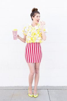 DIY Popcorn Costume - Studio DIY