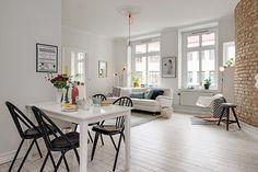 The blonde nordic apartment. Alvhem.