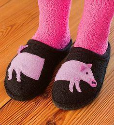 piggy slippers