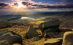 A guide to some of the UK's best walks for autumn on National Trust land,   including what to see along the way. This week, Kinder Scout in the Peak   District