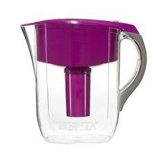 3.Brita Grand Water Filter Pitcher, Violet, 10 Cup