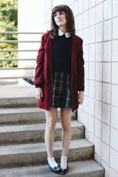 Schoolgirl Plaid - Finch  Fawn