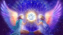 Earth Ascension- Angels helping us Ascend our darkness into light, God bless!