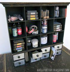 Sizzix ScoreBoards Apothecary Cabinet
