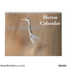 Heron, Calendar, Great Gifts, Birds, Herons, Bird, Life Planner, Stork
