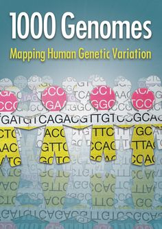 1000 Genomes - Mapping Human Genetic Variation. Credit: EMBL-EBI/S.Phillips