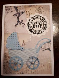 Baby kort. Baby card.