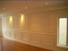 Wainscoting...less is more. Makes a room look sophisticated instantly. Maybe in the dining room?