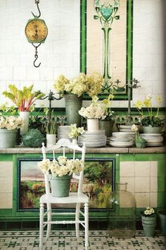 House Beautiful: A Little Green | ZsaZsa Bellagio - Like No Other