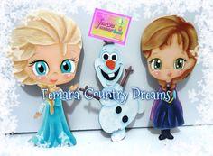 Frozen pintura country MDF