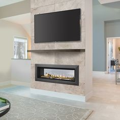 """Majestic Echelon See Through Direct Vent Gas Fireplace - 36"""" 