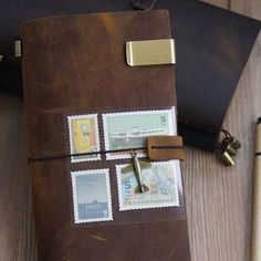 Bring out the explorer in you while writing your thoughts on this Handmade Leather Traveler's Notebook. This journal is inspired from the vintage notebooks of travelers which come in a number of beautiful colors that match with the leather design.