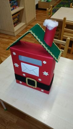 Mikulás postaládája cipősdobozból Christmas Crafts For Kids, Xmas Crafts, Little Christmas, Diy And Crafts, Christmas Gifts, Diy Paper, Paper Crafts, Christmas Window Decorations, Projects To Try