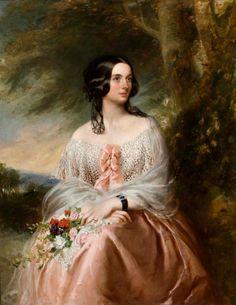 Emily, Lady Isham by Richard Buckner (Lamport Hall - Lamport, Northamptonshire UK) | Grand Ladies | gogm