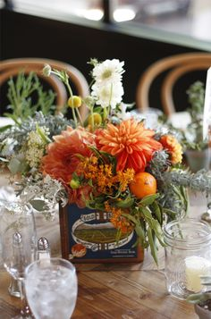 Beautiful fall flowers (we did not design this, but it's great inspiration!)