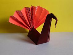 Origami Turkey Instructions