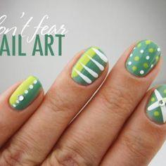 Summer Nails: Greens  #SummerNails